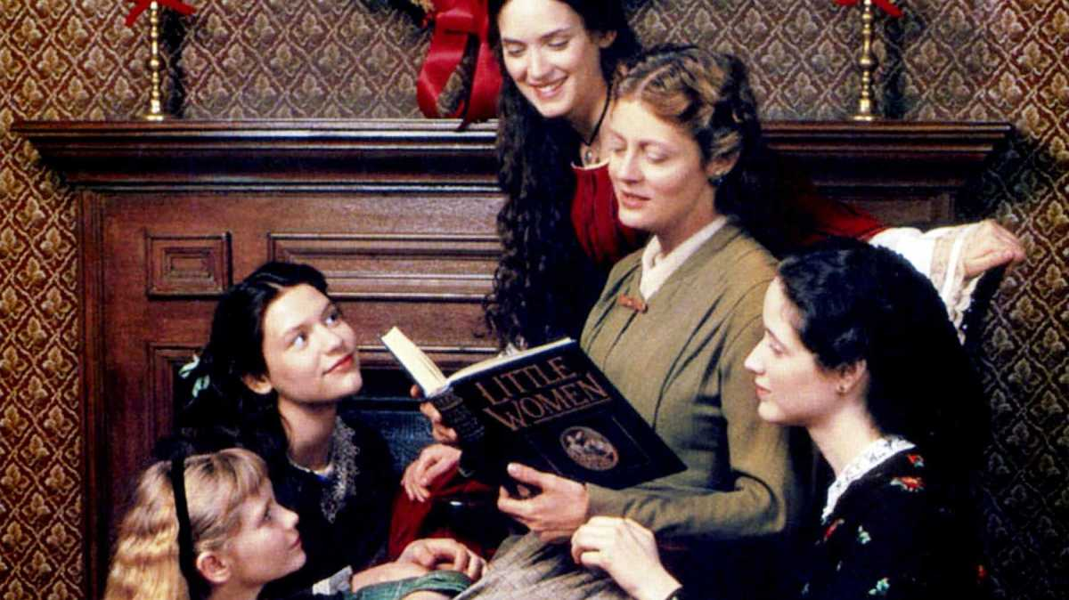 Claire Danes, Winona Ryder, Susan Sarandon, Kirsten Dunst, and Trini Alvarado in Little Women