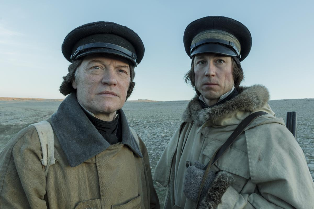 Crozier and Fitzjames stare at some new Terror