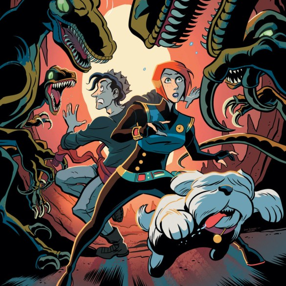 Jughead's Time Police Archie Comics Cover, 2019.