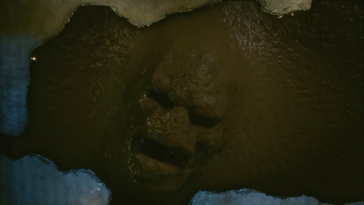 The Malivore pit and face of the Malivore creature.
