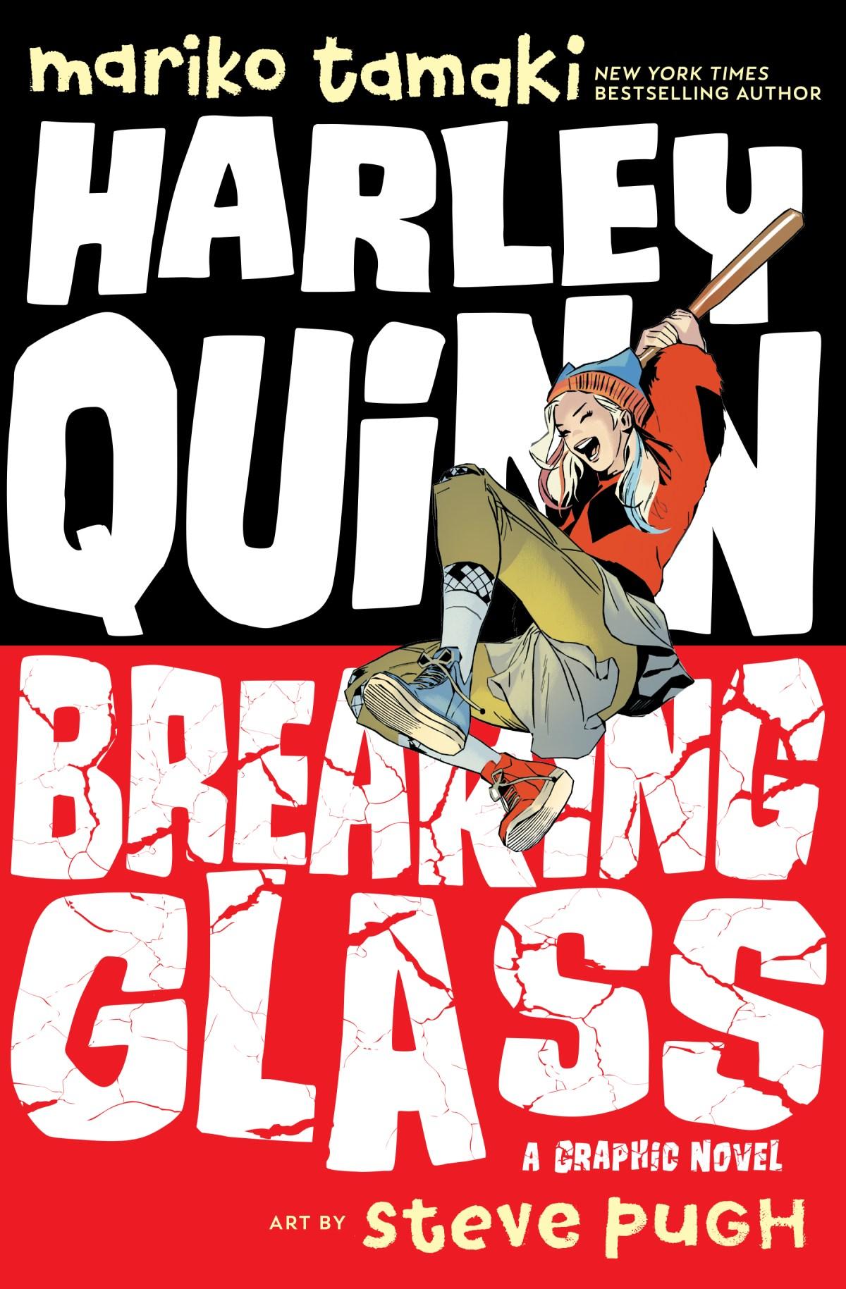 Harley Quinn: Breaking Glass Cover, DC 2019.