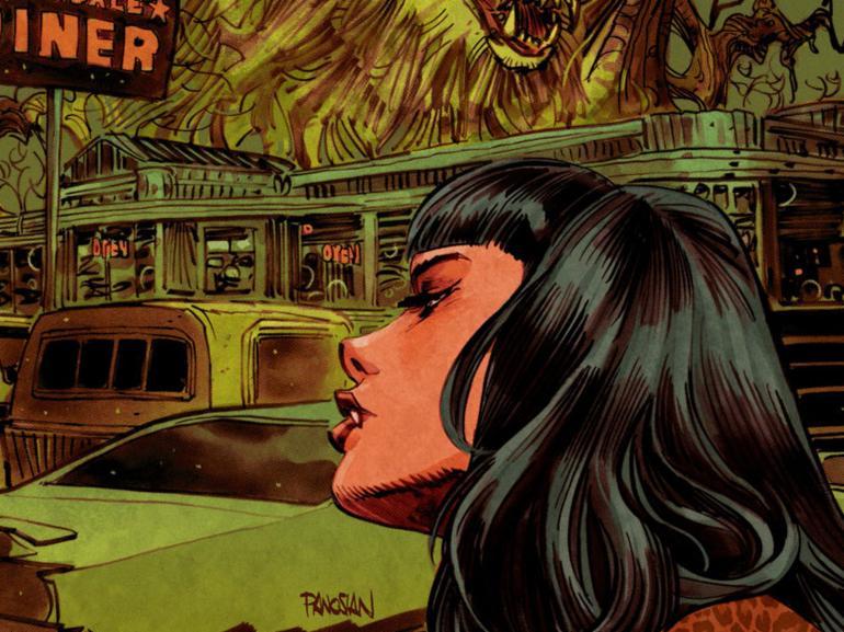 Jughead: the Hunger vs. Vampironica #4 Variant Cover.