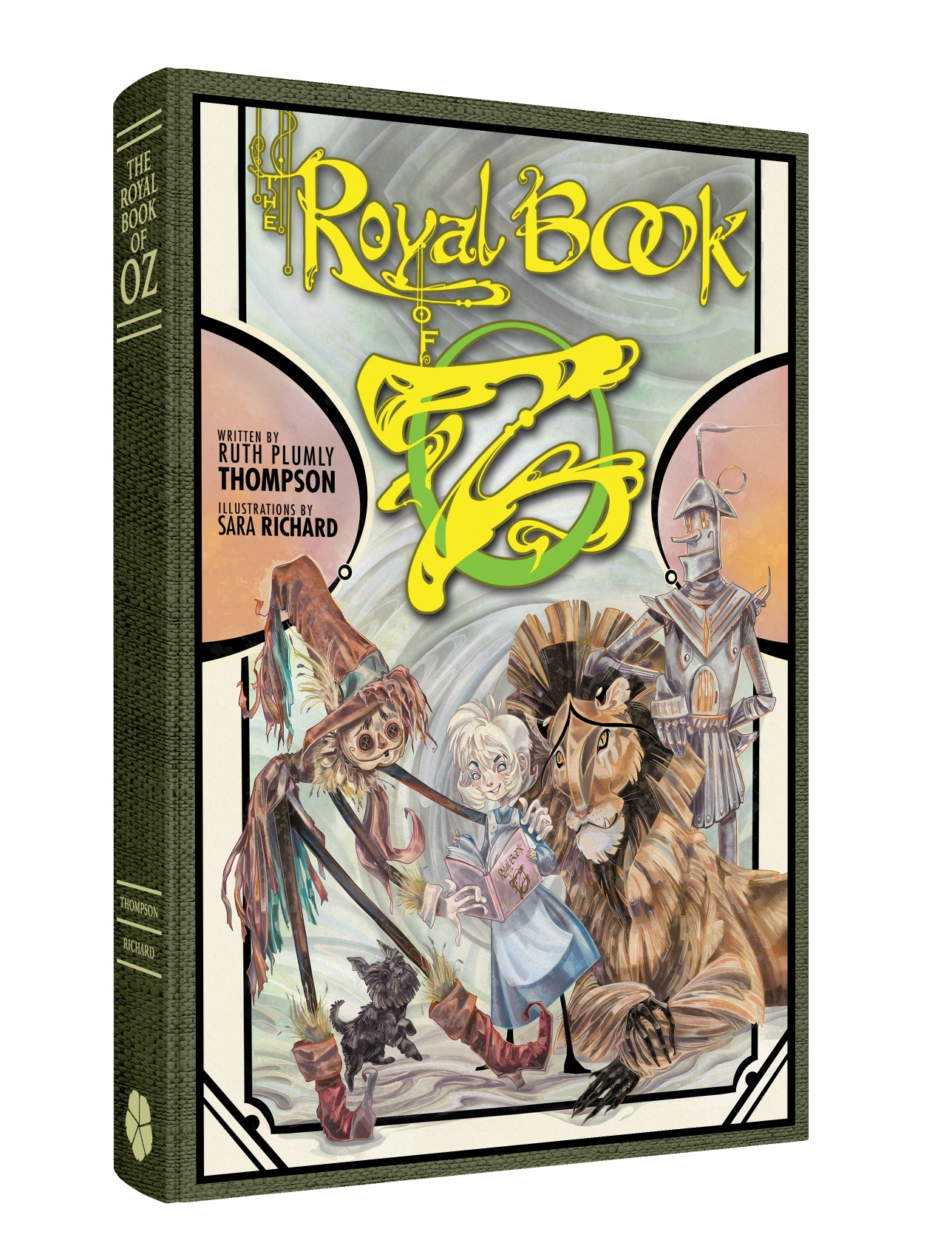 The Royal Book Of Oz by Clover Press (2019)