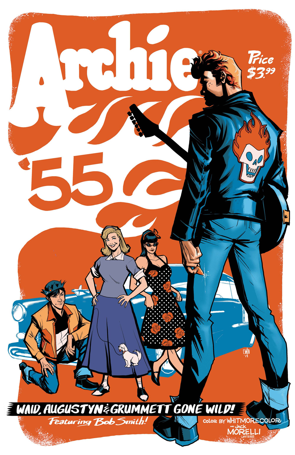 Archie 1955 #1 Alternate Cover by Pete Woods