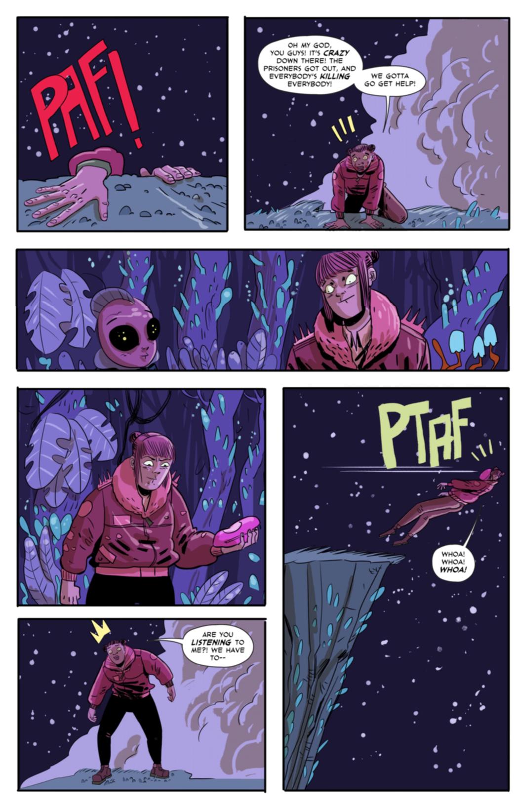 Page twelve, Caffeinated murder
