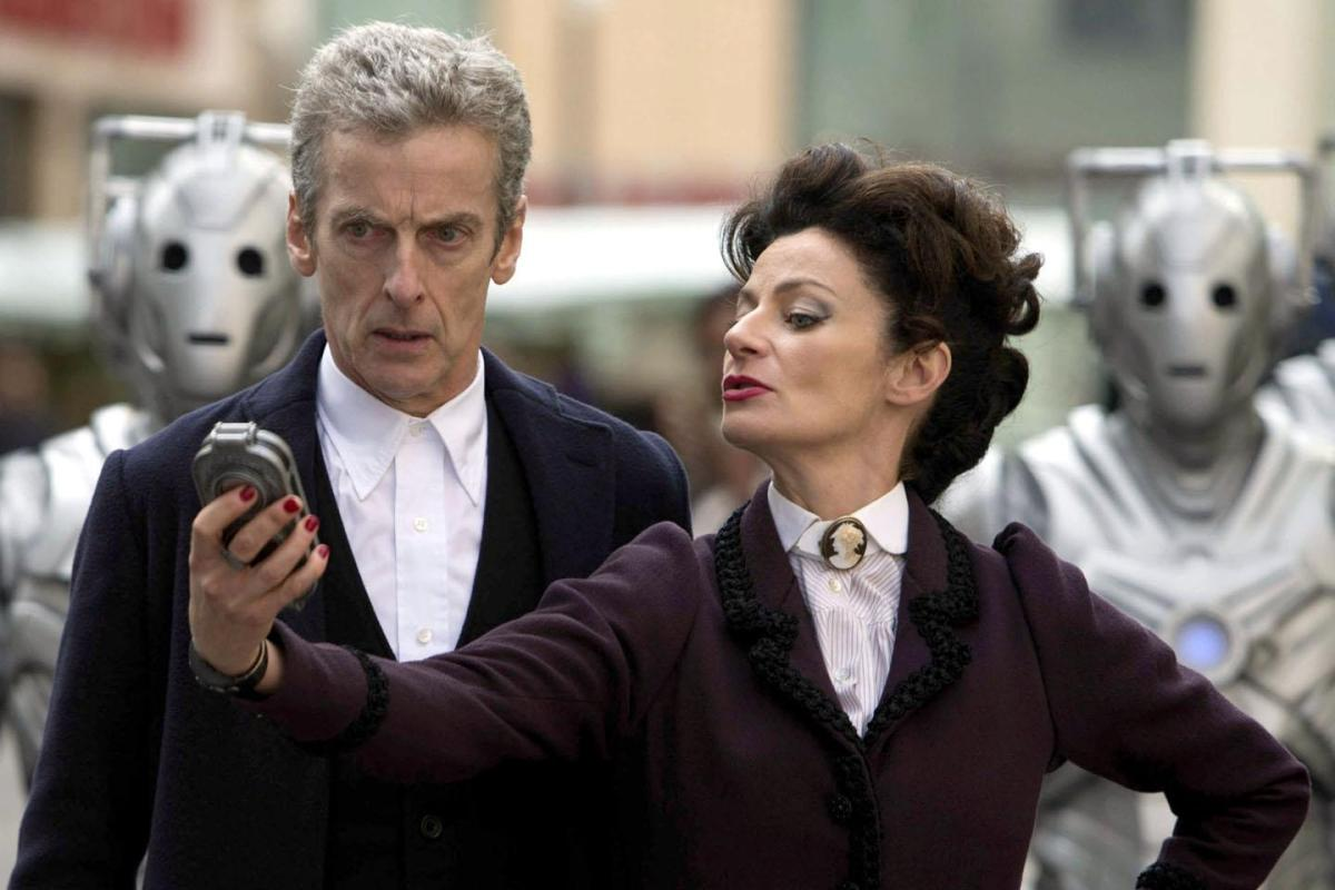 Female Villains: Missy and The Doctor.