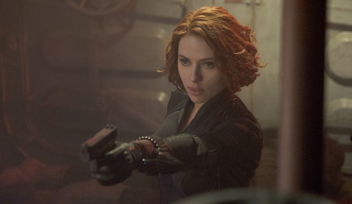 Natasha Romanoff usually resorts to violence, but in the case of you, Martin Scorsese, she will engage in healthy debate