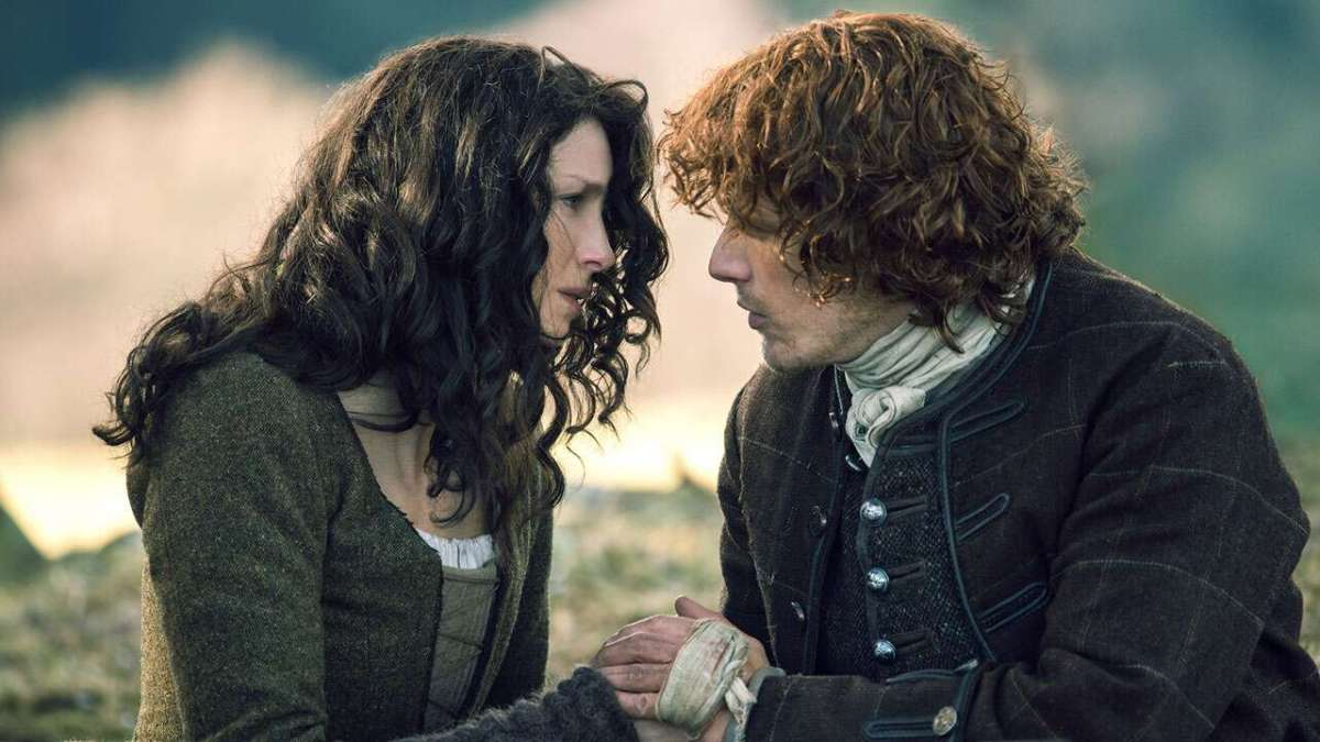Claire and James Fraser