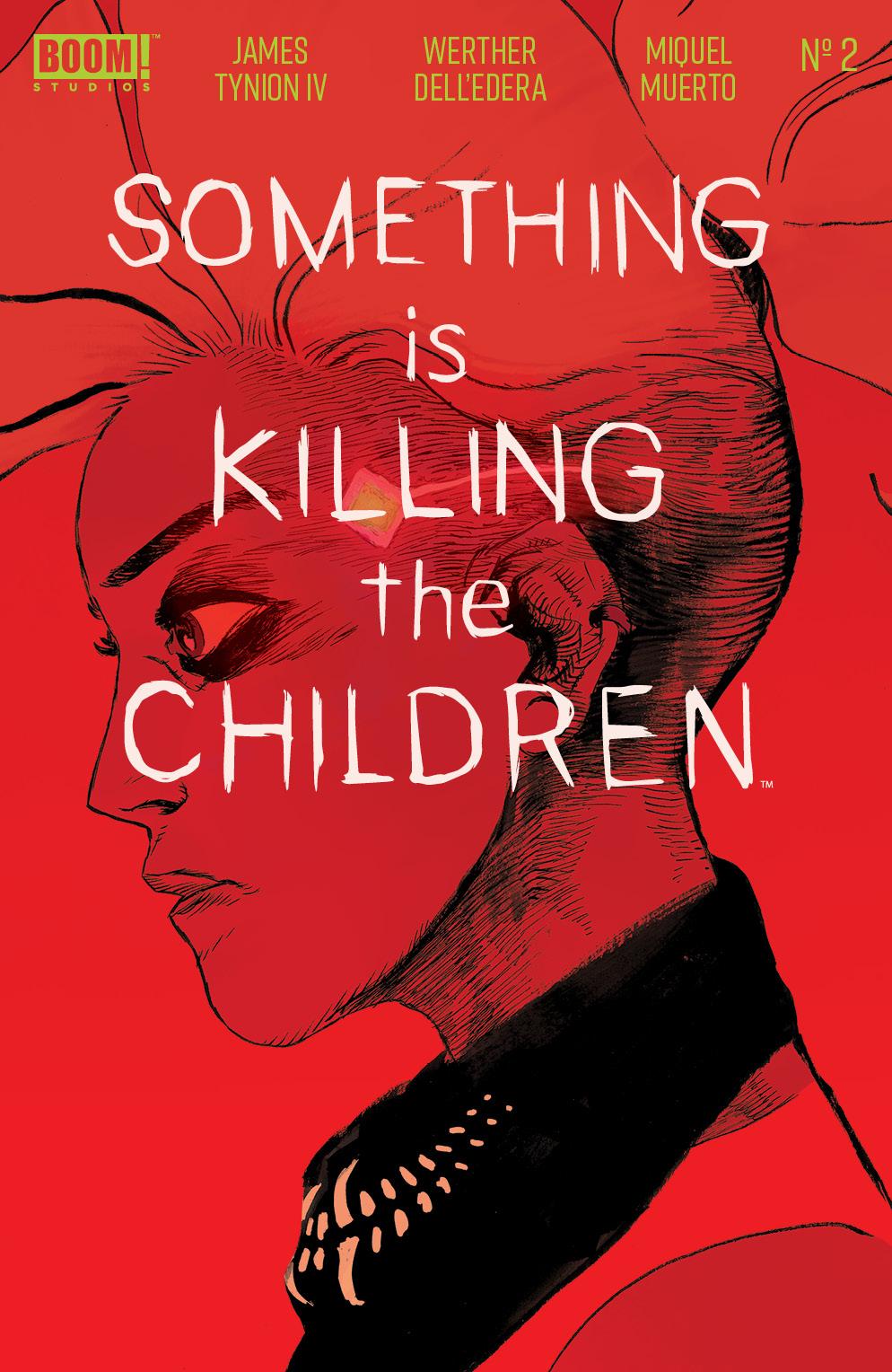 Something Is Killing The Children #2 Cover, BOOM! Studios.