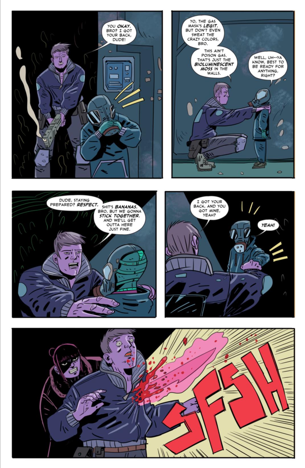 Page seven: Seti makes a new friend.