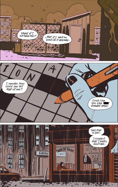 November Volume I, Page 5, Image Comics (2019).