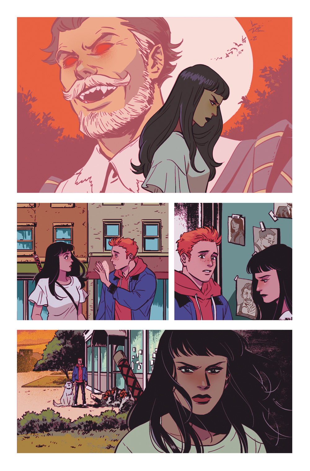 Page 5: New Blood #1, Archie Comics 2019.