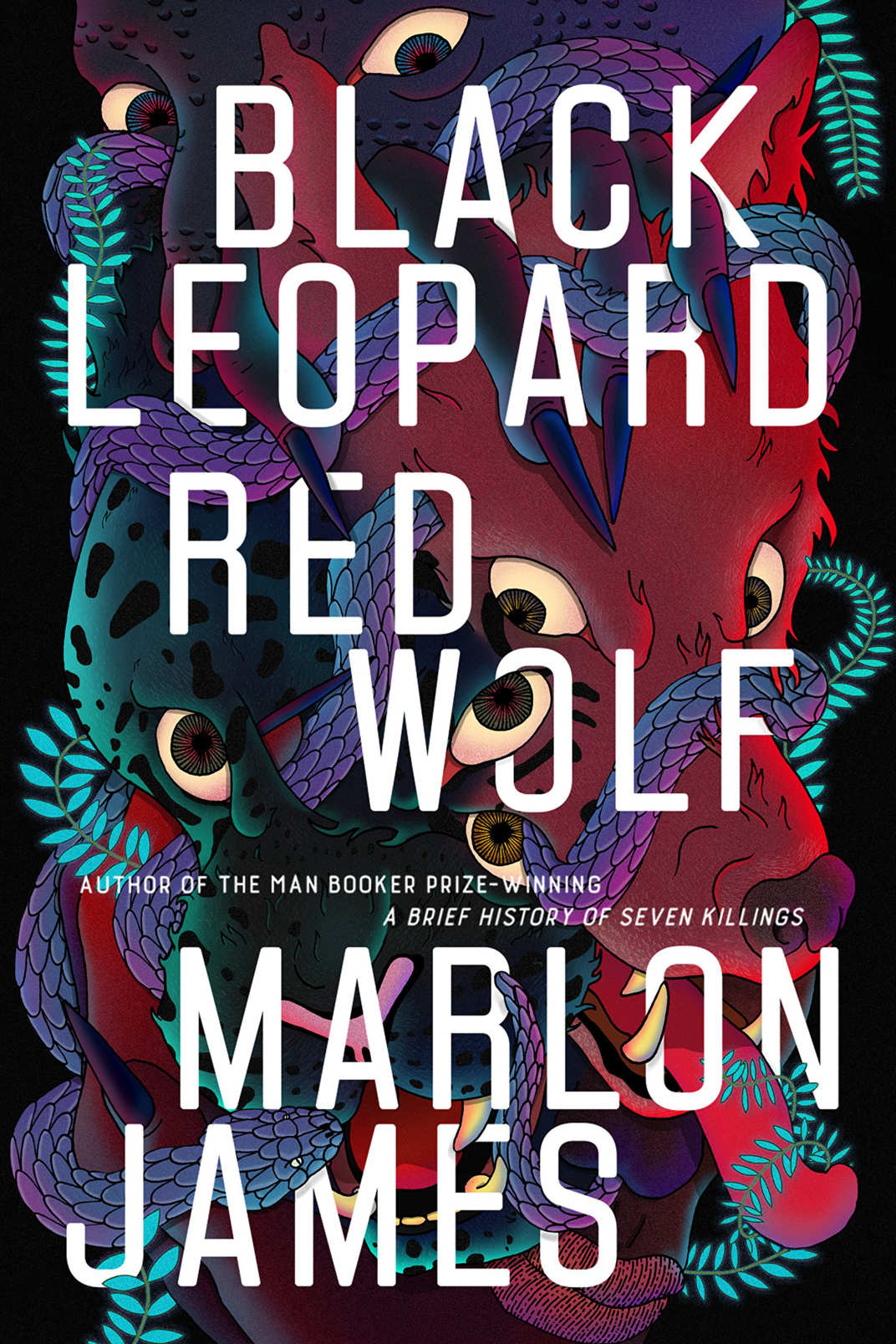 Cover of Black Leopard Red Wolf.