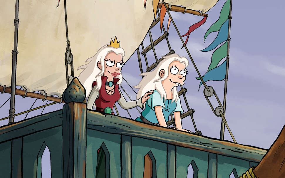 In Disenchantment's first episode, Bean and Dagmar sail for Maru.