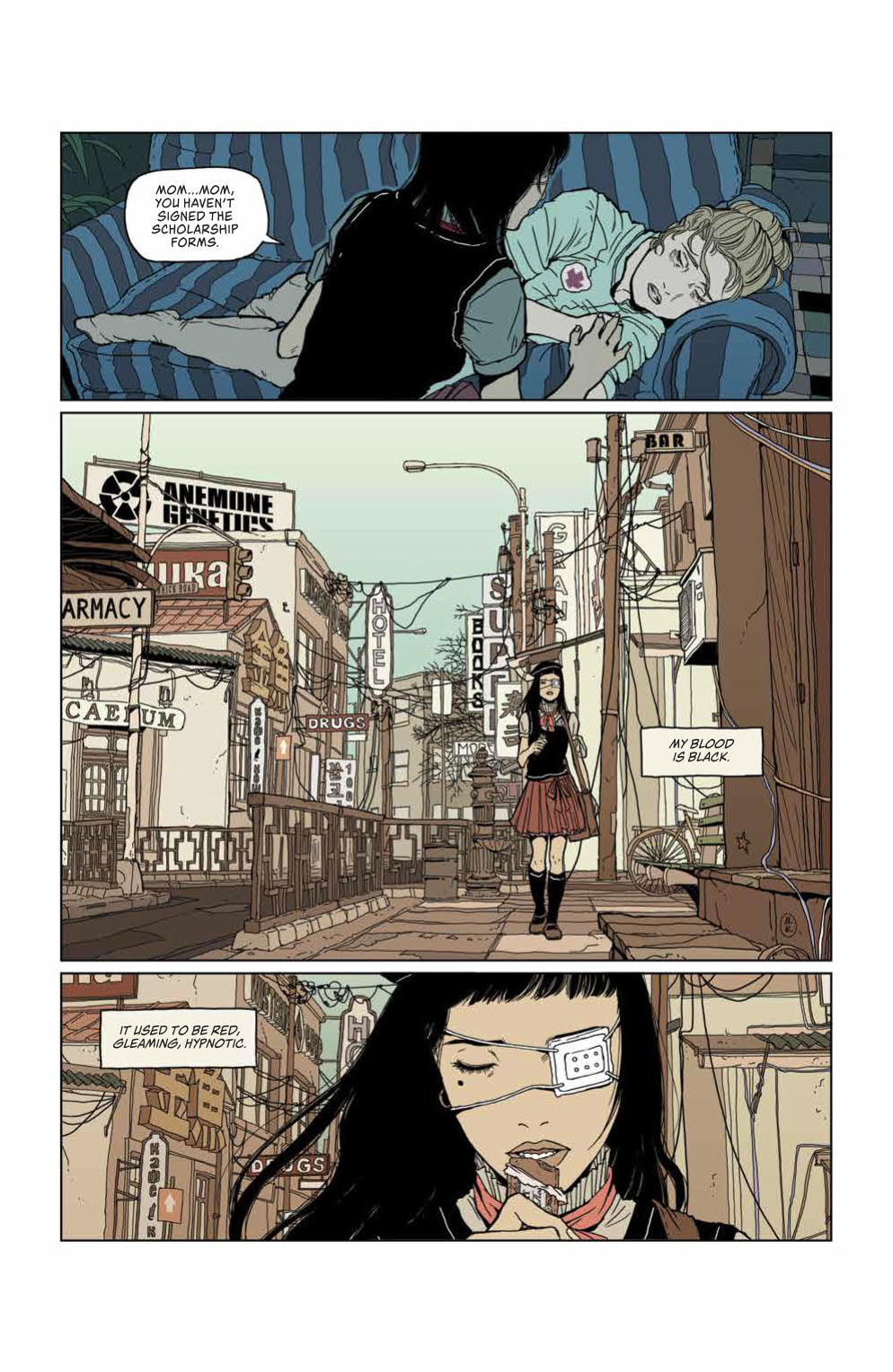 Page 5 from Heartbeat #1.