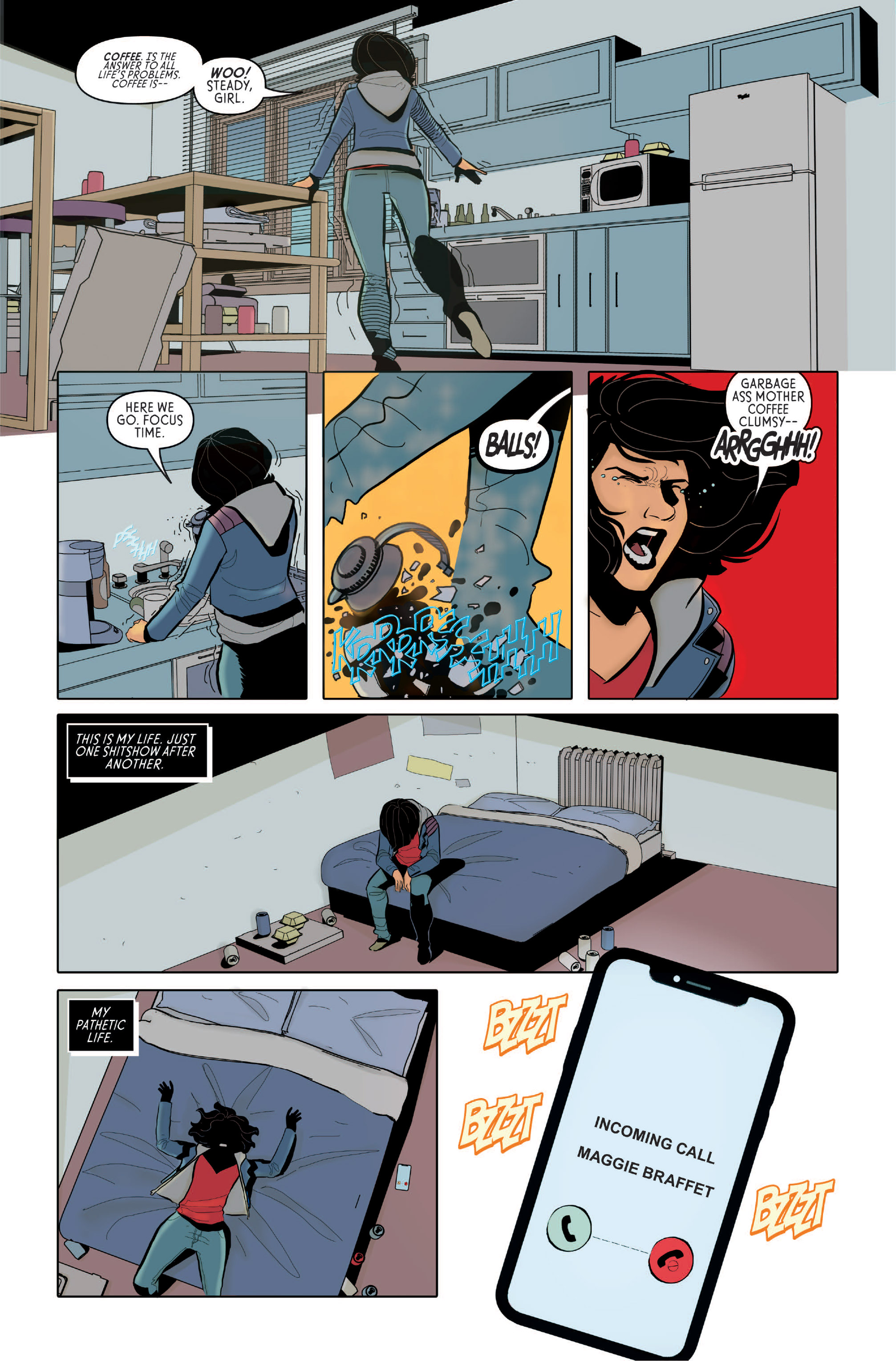 The Black Ghost #2; Page 14, New Wave Comics, 2019.