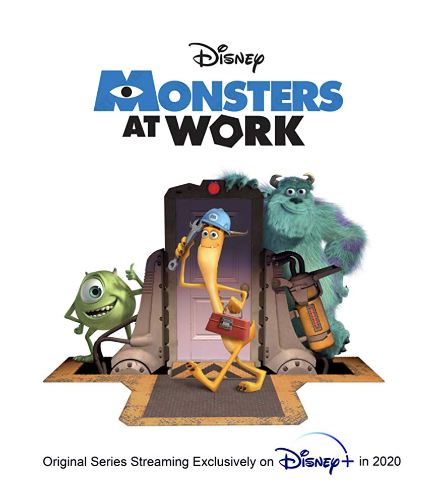 Monsters at Work poster.