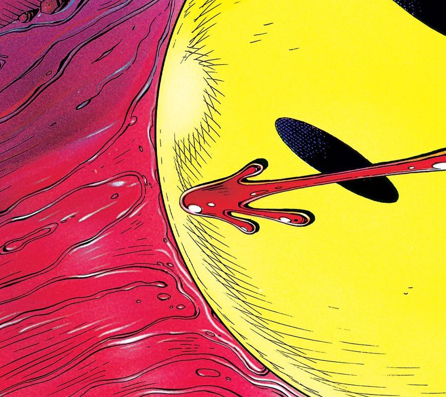 Dave Gibbons Watchmen Artwork