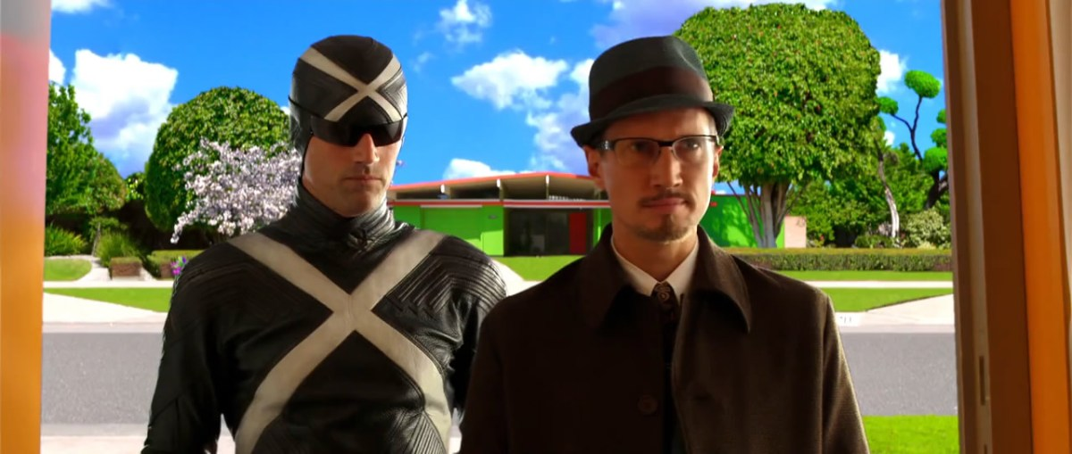 Racer X and Inspector Detector from the live action movie.