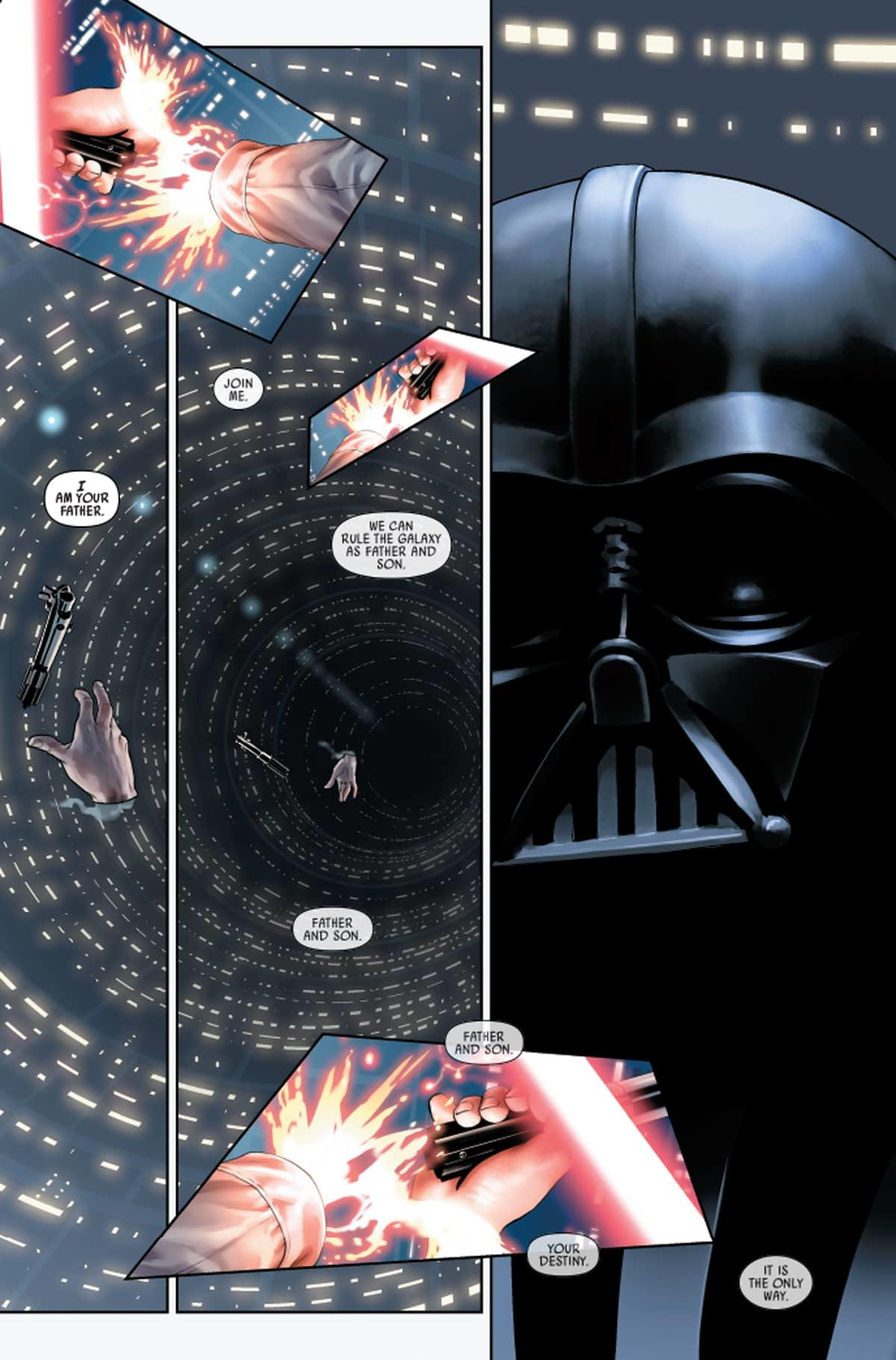 Star Wars #1: Luke loses his hand.