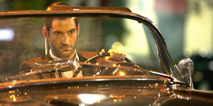 The main character in his car in the series.