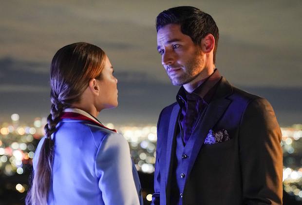 romantic Deckerstar moment between Lucifer Morningstar and Chloe Decker