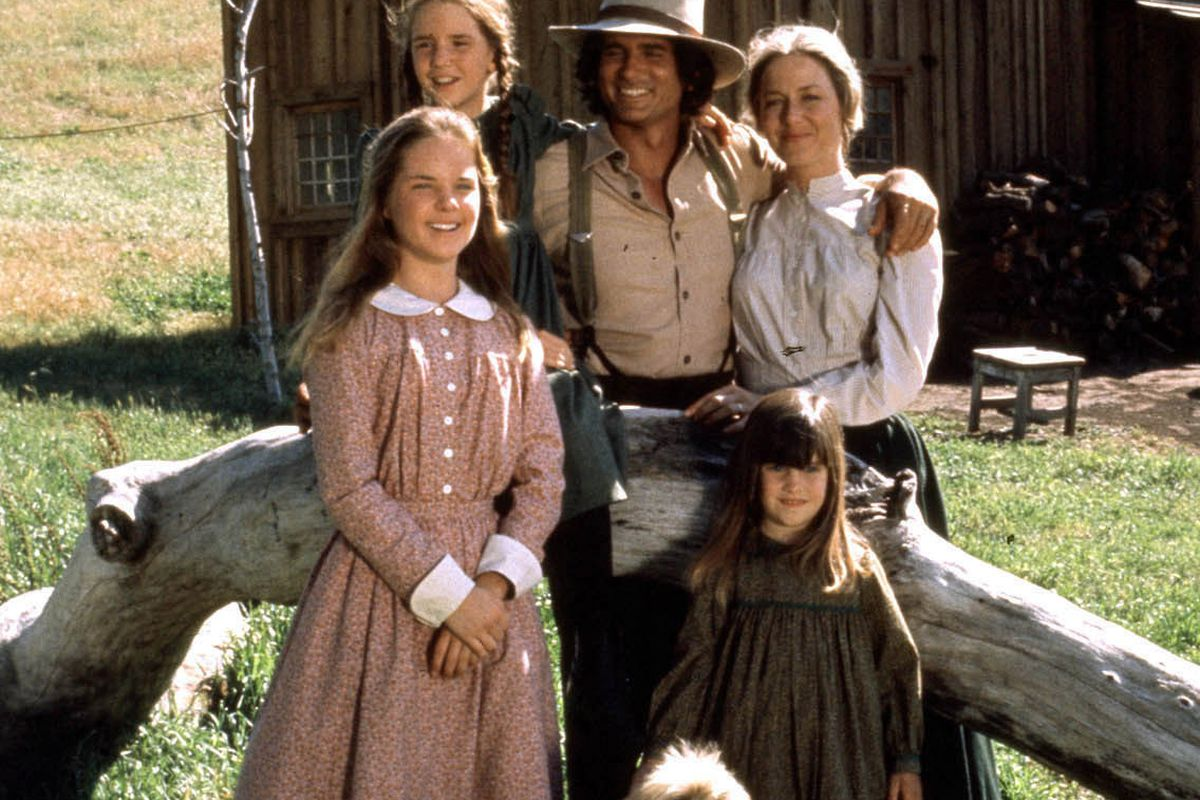 The cast of Little House on the Prairie on one of the top 70s shows