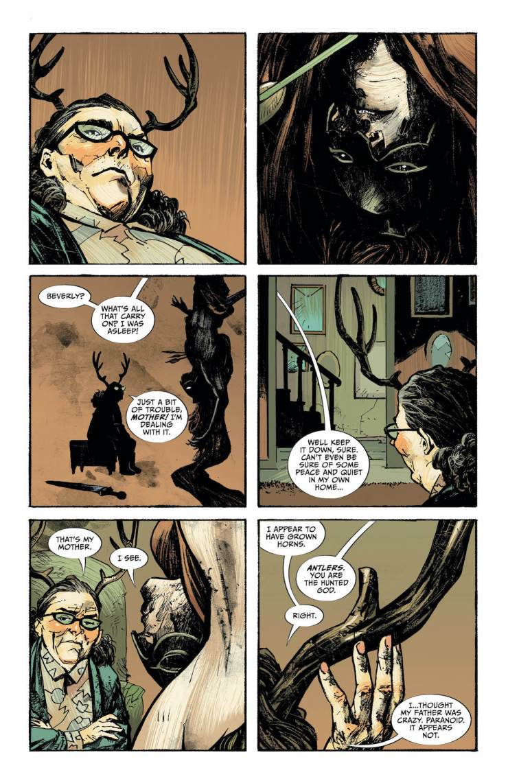 Lucifer #17, Page #3: Beverly speaks with Achilles