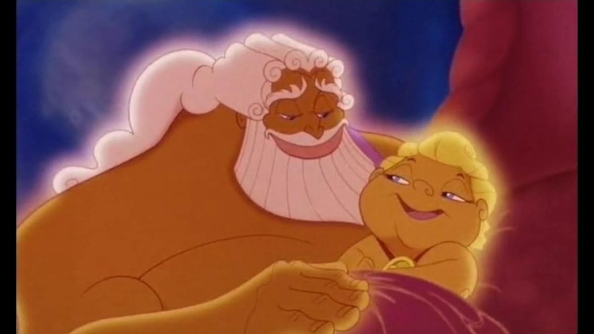 Baby Hercules in the movie Hercules.