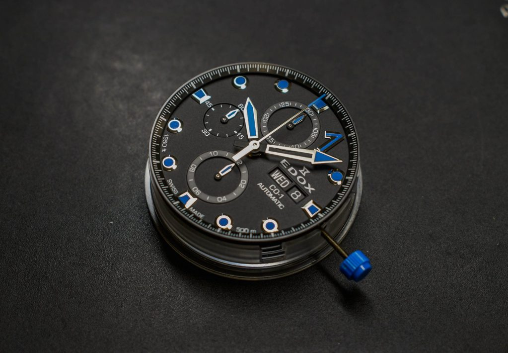 EDOX CO-1 CARBON CHRONOGRAPH