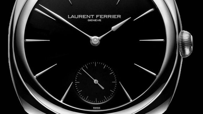 Laurent Ferrier Micro-Rotor Galet Opaline Black & White