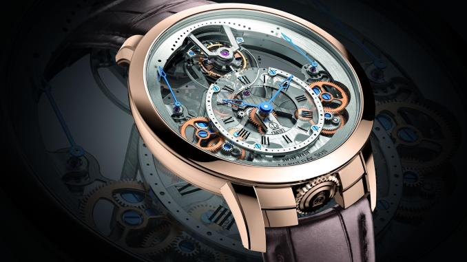 Arnold & Son Time Pyramid Tourbillon