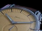 Holthinrichs RAW Ornament Pale Gold dial detail
