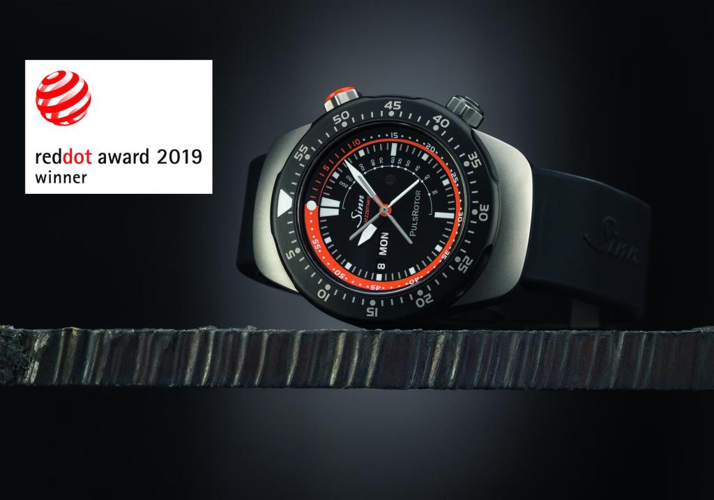 Sinn Spezialuhren has won an award in the Red Dot Award: Product Design 2019 (picture courtesy of Sinn Spezialuhren GmbH)