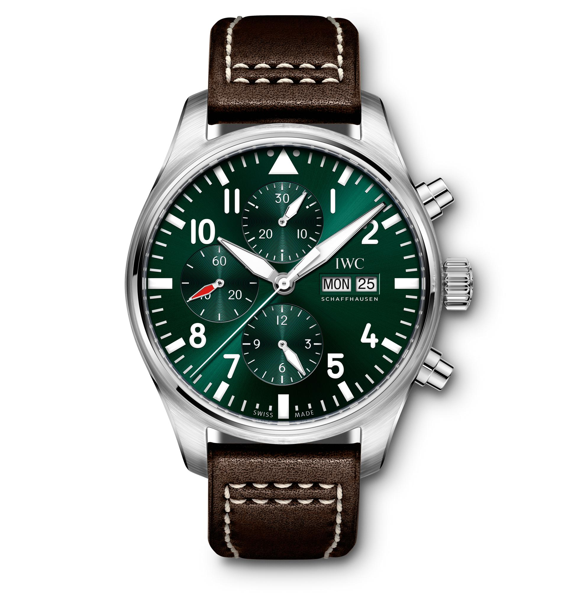 IWC Pilot Watch Chronograph Edition Racing Green REF. IW377726