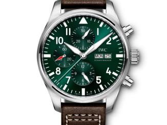 IWC Pilot Watch Chronograph Edition Racing Green REF. IW377726