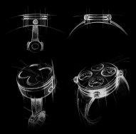 Icon watch sketches (image courtesy of Meccaniche Veloci)