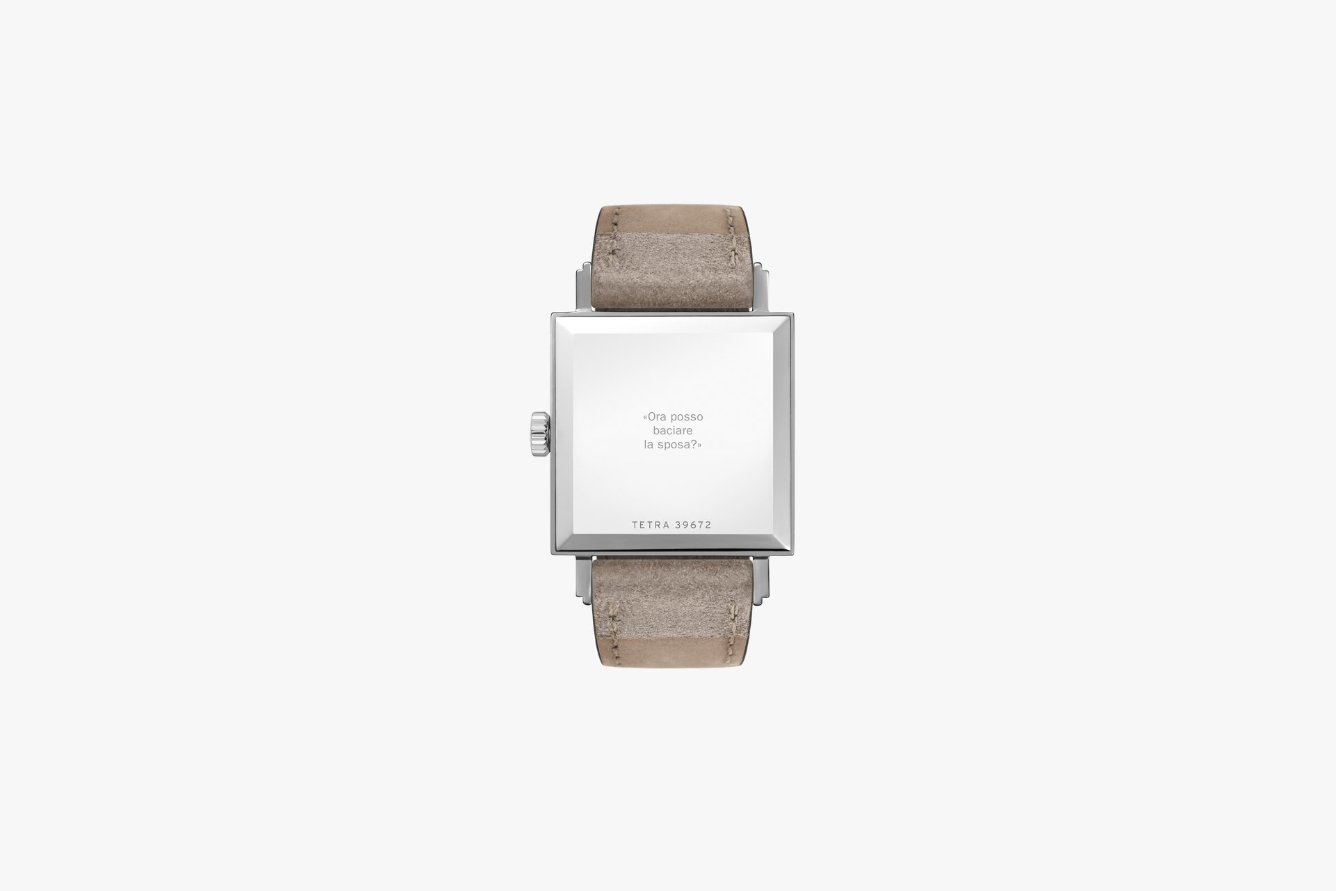 Nomos Tetra 27 Duo back with engravings