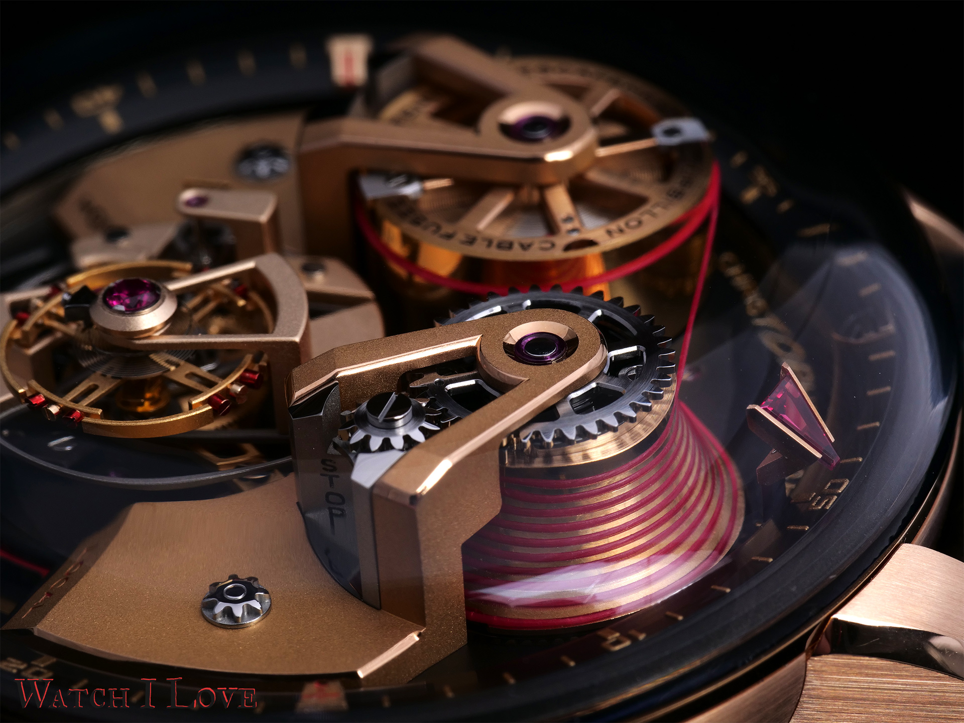 The cable fusee system