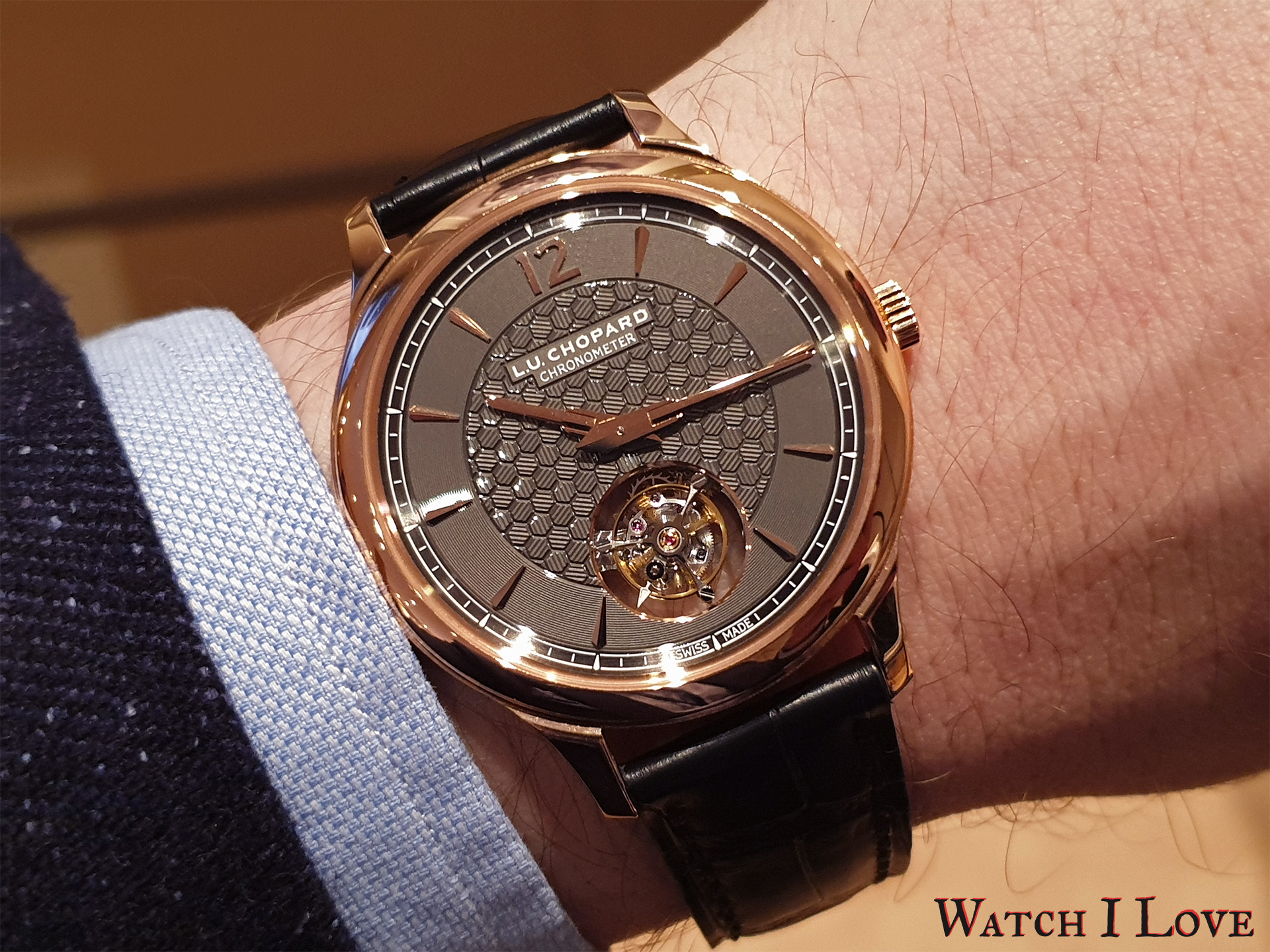 On the wrist with Chopard L.U.C Flying T Twin