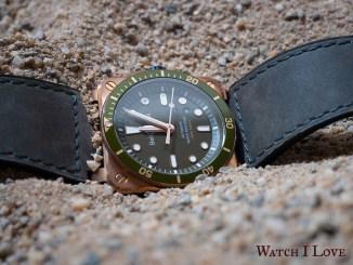 Bell & Ross BR03-92 Green Bronze Diver