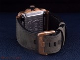 The back view with closed buckle