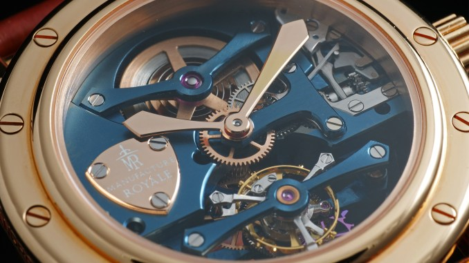 Manufacture Royale Androgyne Light Blue Rose Gold