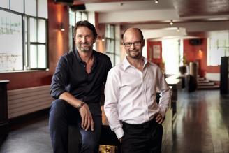 Maximilian Büsser and Arnaud Nicolas
