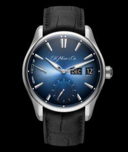 H. Moser & Cie Pioneer Perpetual Calendar MD Funky Blue