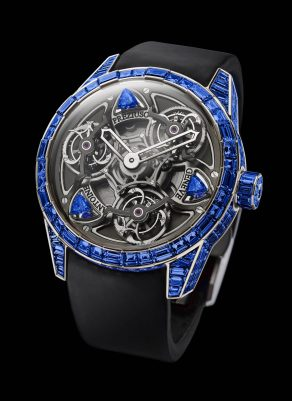 Antoine Preziuso TTR3 Blue Equalizer Frequencies