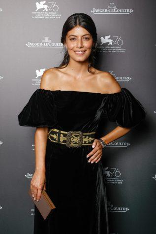 Alessandra Mastronardi wearing Reverso One Jewellery at Jaeger-LeCoultre Gala Dinner @Sebastiano Pessina