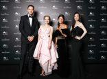 Nicholas Hoult, Amanda Seyfried, Alessandra Mastronardi and Ni Ni at Jaeger-LeCoultre Gala Dinner