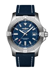 avenger-automatic-43-in-stainless-steel-with-blue-dial-and-blue-leather-military-strap-1