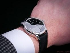 Czapek Quai des Bergues black enamel wrist